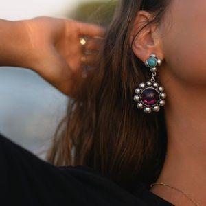 NWT UO x Mia Colona Flora Statement Earrings